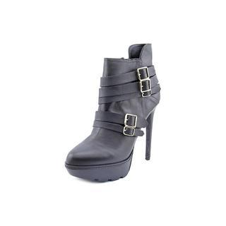 Steve Madden Women's Akademi Black Leather Boots