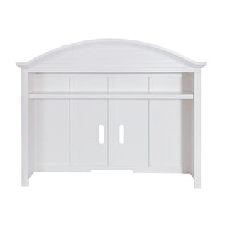 Summer House Oyster White 2-piece Entertainment Center