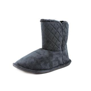 Steve Madden Women's 'Bedtime' Black Faux Suede Boots