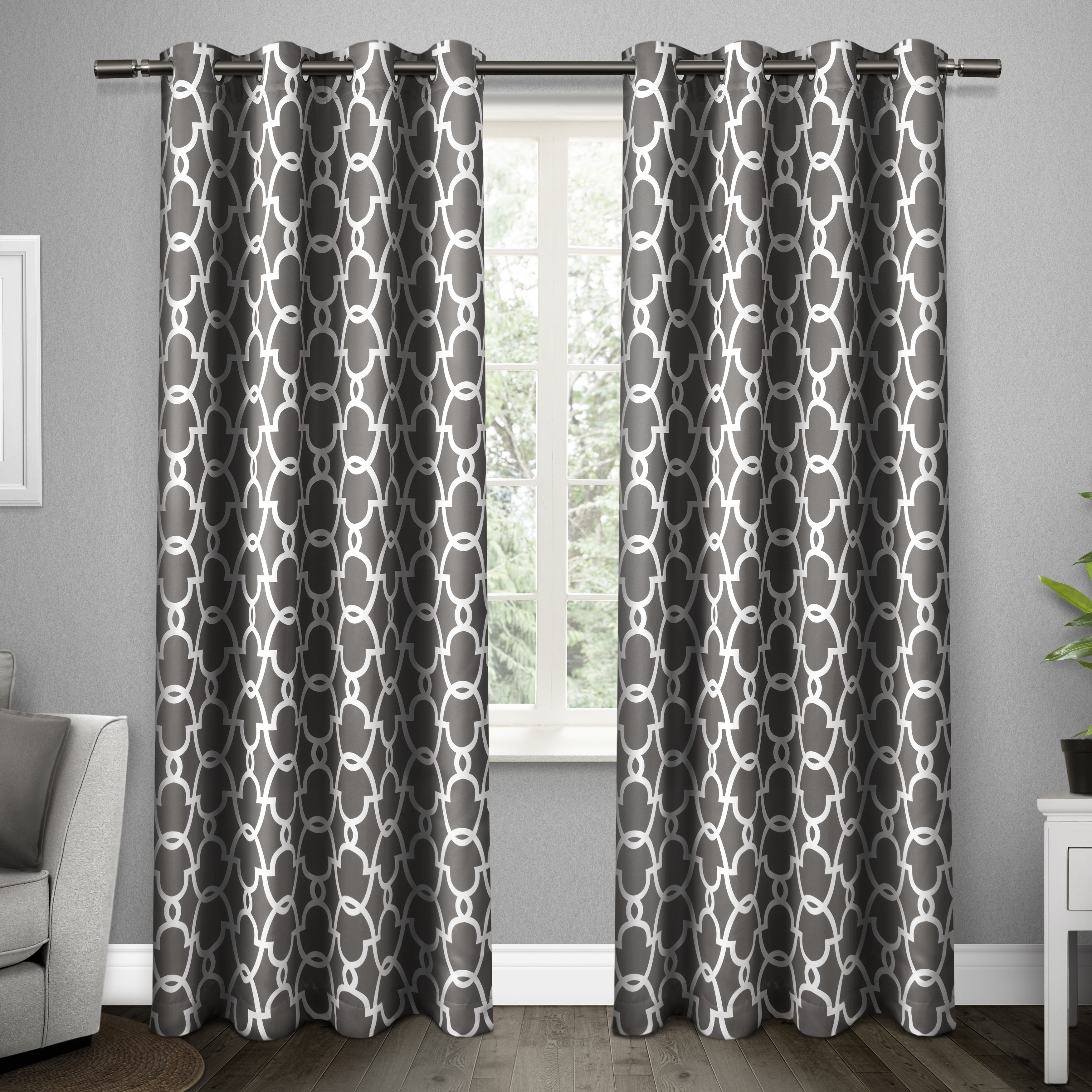 ATI Home Gates Blackout Thermal Curtain Panel Pair with Grommet Top (More options available)
