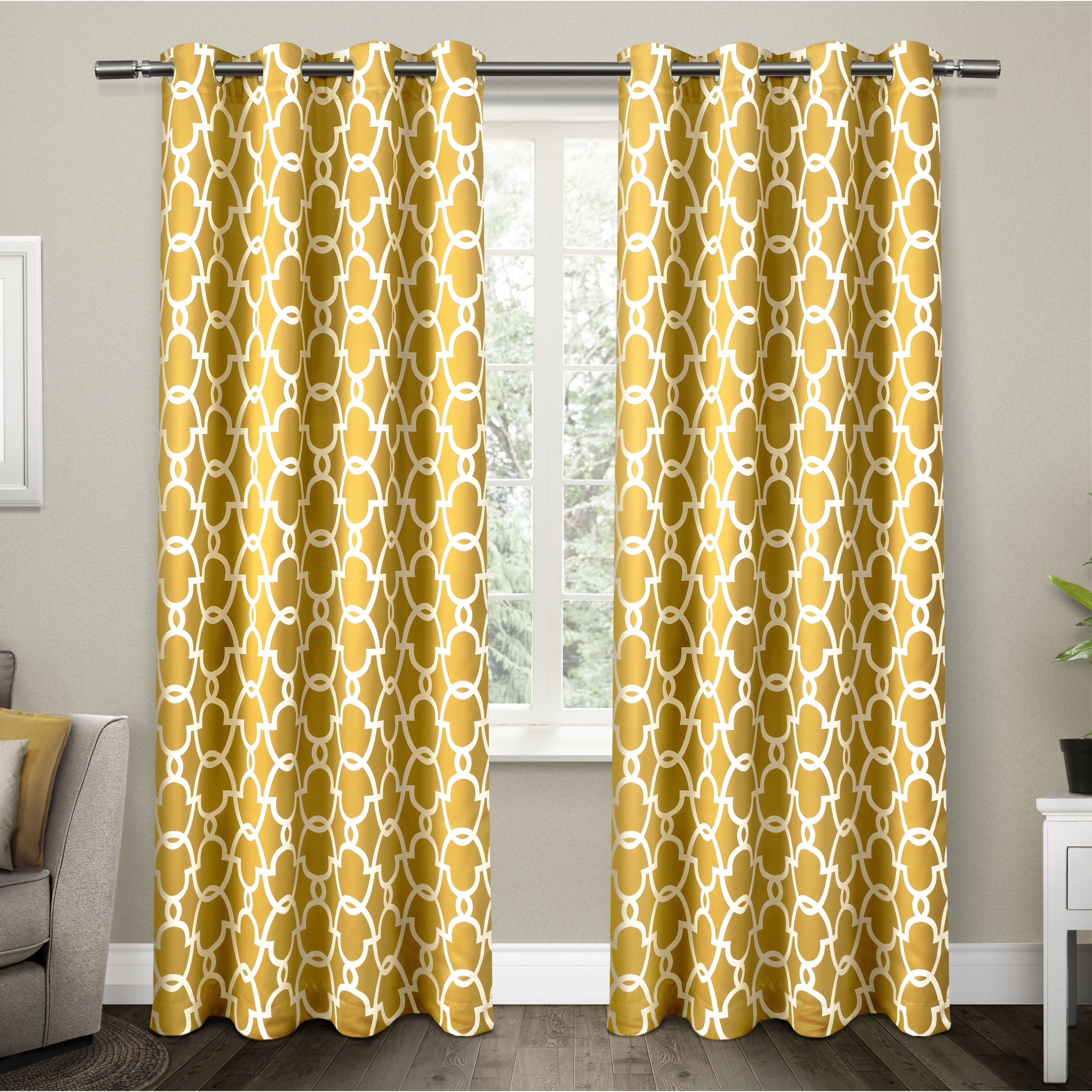 Marvelous ATI Home Gates Blackout Thermal Curtain Panel Pair With Grommet Top (4  Options Available)