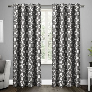 Link to The Curated Nomad Duane Thermal Woven Blackout Grommet Top Curtain Panel Pair Similar Items in Privacy Curtains