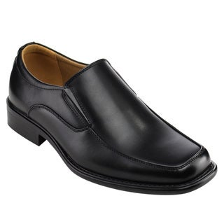 Arider Men's Slip-on Flat Heel Office Oxford Dress Loafer Shoes