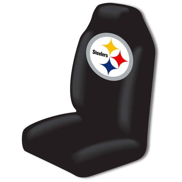 the northwest company nfl 175 steelers car seat cover free shipping on orders over 45. Black Bedroom Furniture Sets. Home Design Ideas