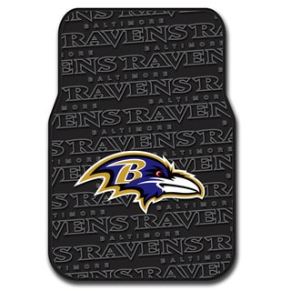 NFL 343 Ravens Car Front Floor Mat