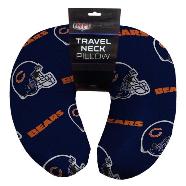 The Northwest Company NFL 117 Bears Beaded Neck Pillow