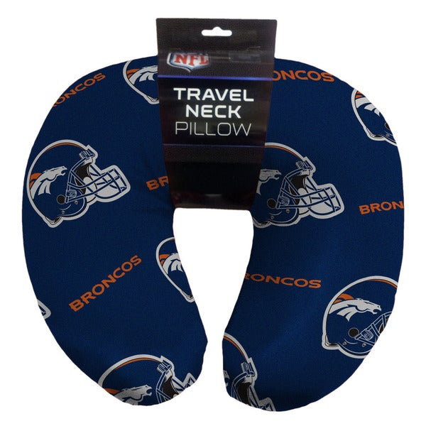 The Northwest Company 117 NFL Denver Broncos Beaded Travel Neck Pillow