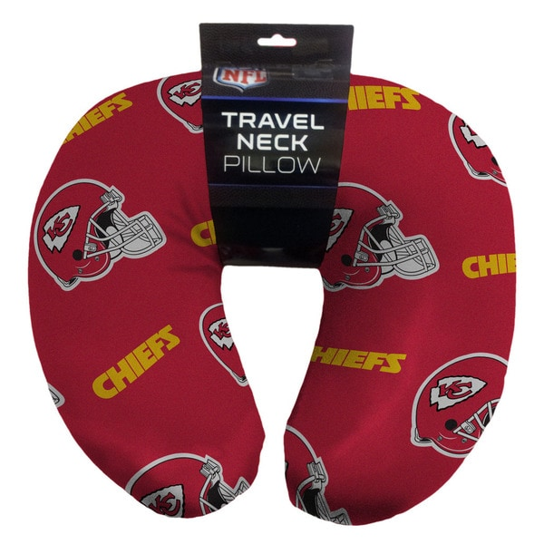 The Northwest Company NFL 117 Kansas City Chiefs Beaded Neck Pillow