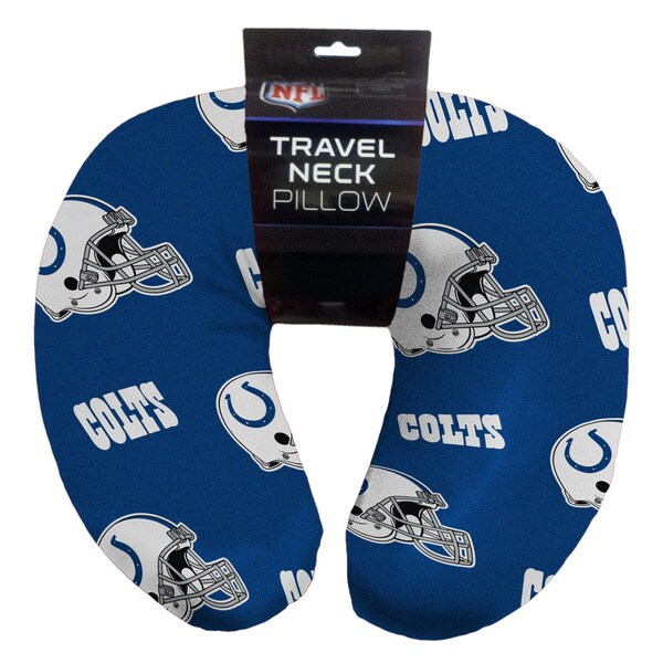 The Northwest Company NFL Colts Beaded Neck Pillow