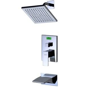 Sumerain Digital Temperature Display LCD Back-light Thermal Tub/Shower Faucet
