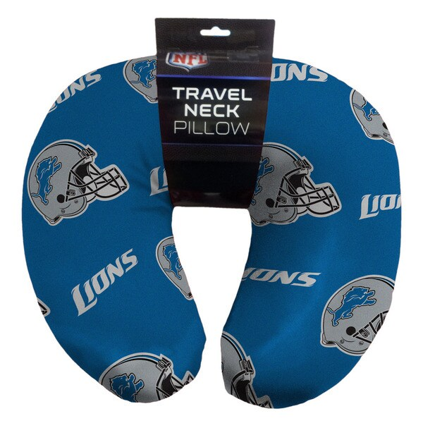 The Northwest Company NFL 117 Detroit Lions Beaded Neck Pillow