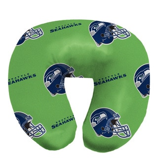 NFL 117 Seattle Seahawks Beaded Neck Pillow