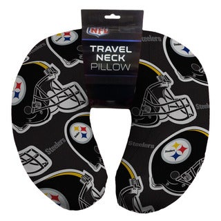 The Northwest Company NFL 117 Steelers Beaded Travel Neck Pillow