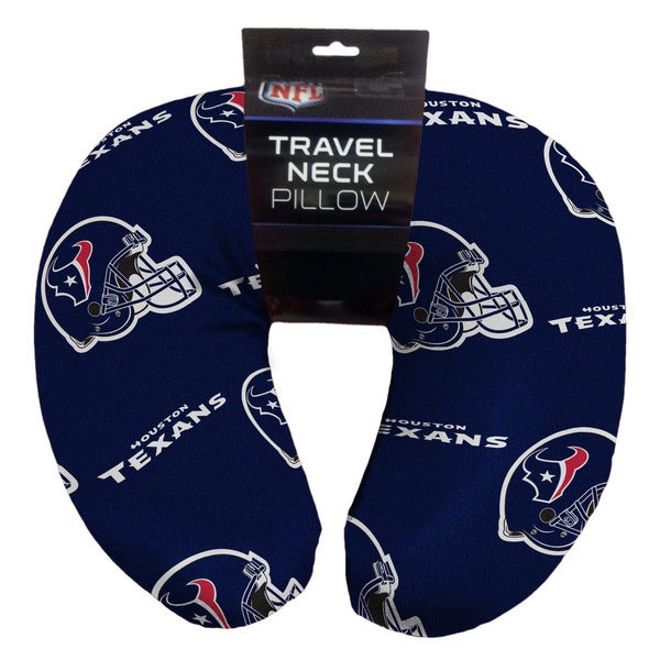 The Northwest Company NFL 117 Texans Beaded Neck Pillow
