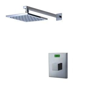 Sumerain Digital Temperature Display LCD Back-light Thermal Shower Faucet