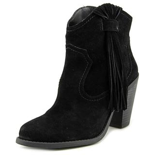Jessica Simpson Women's Colver Black Suede Ankle Boots