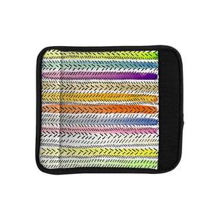 KESS InHouse Sreetama Ray 'Dash 3' Dashed Paint Luggage Handle Wrap