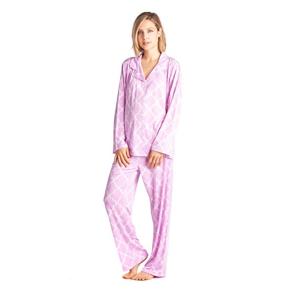 904ac1d404ae Shop BHPJ by Bedhead Classic Notch Collar PJ Set - Free Shipping On ...