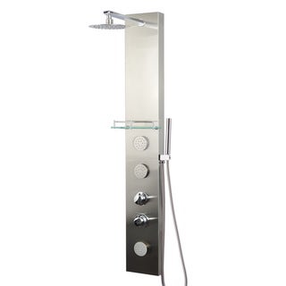 Valore Stainless Steel Full-install Shower Panel