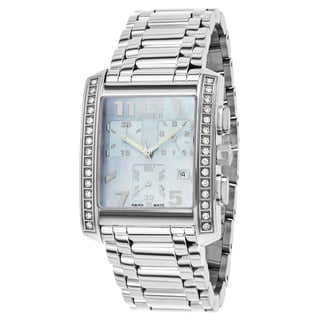 Fendi Women's F755130MDC 'Classico' Blue Dial Stainless Steel Chronograph Swiss Quartz Watch