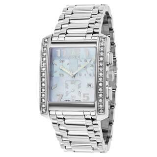 Fendi Women's F755130MDC 'Classico' Blue Dial Stainless Steel Chronograph Swiss Quartz Watch https://ak1.ostkcdn.com/images/products/12094003/P18957774.jpg?impolicy=medium