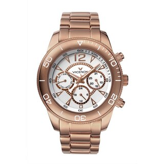 Viceroy Womens 47604-05 Gold Stainless Steel Watch