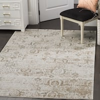Safavieh Artifact Vintage Grey/ Cream Distressed Rug - 3' x 5'