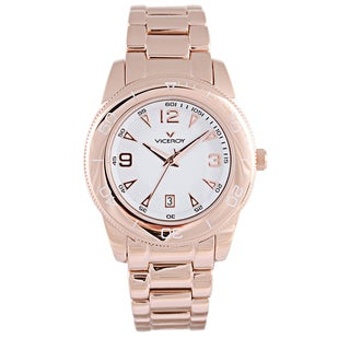 Viceroy Womens 47602-05 Gold Stainless Steel Watch