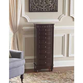 Powell Patterson Cofee Jewelry Armoire