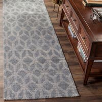 "Safavieh Cape Cod Handmade Grey / Gold Jute Natural Fiber Rug - 2'3"" x 8'"
