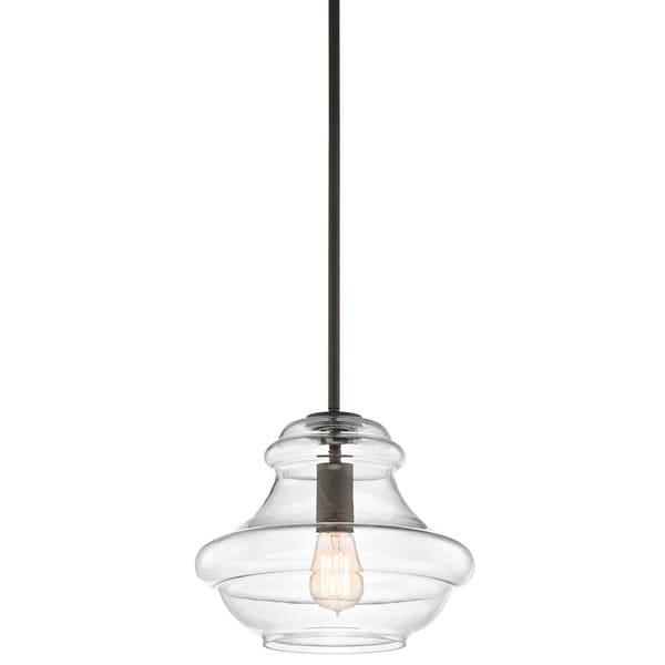 Shop kichler lighting everly collection 1 light olde for Kichler kitchen pendant lighting