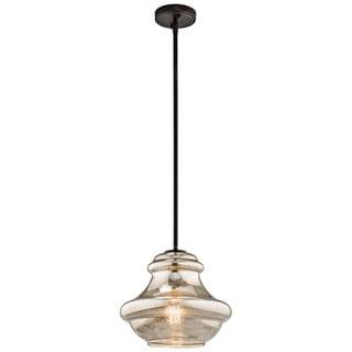 Kichler Lighting Everly Collection 1-light Olde Bronze Pendant