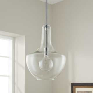 Kichler Lighting Everly Collection 1-light Chrome Pendant