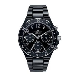 Viceroy Womens 47600-55 Black Ceramic Watch