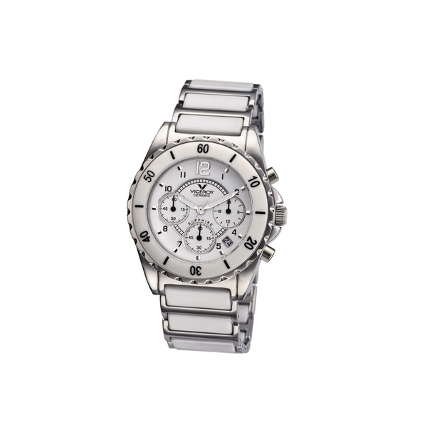 Viceroy Womens 47550-05 White Ceramic Watch