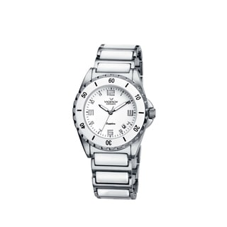 Viceroy Womens 47548-05 White Ceramic Watch