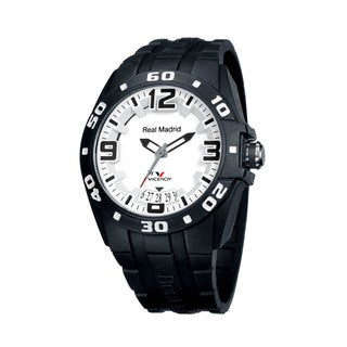 Viceroy Womens 432834-55 Black Rubber Watch