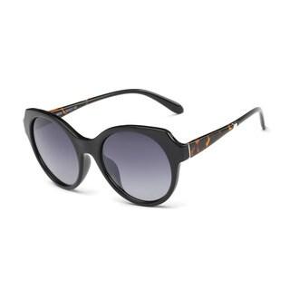 Wayfarer Black Acetate Oval Full-frame Sunglasses