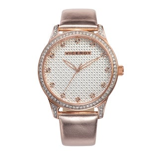 Viceroy Womens 40700-97 Pink Patent Leather Watch