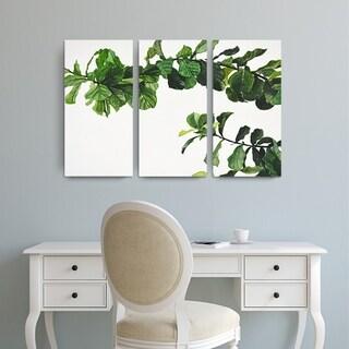 Ready2HangArt 'Chlorophyll' by Norman Wyatt Jr. Wrapped Canvas Art