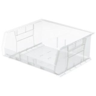 Akro-Mils Clear Plastic 14 3/4 x 16 1/2 x 7-inch AkroBin Organizer (Pack of 6)