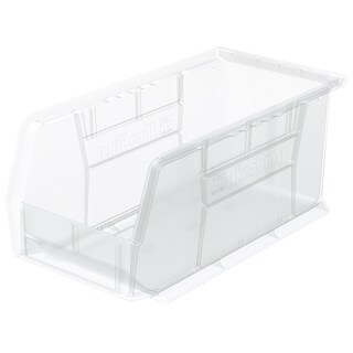 AkroBin Clear Plastic Bin Organizer (Pack of 12)