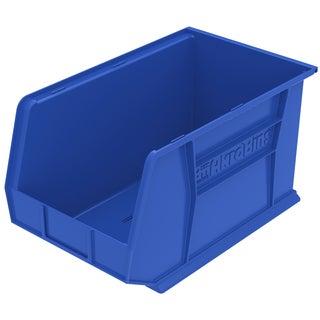 Akro-Mils AkroBin Blue Plastic 18 x 11 x 10-inch Bin Organizer (Pack of 6)