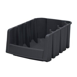 Economy Plastic 17.875 x 6.625 x 7-inch Shelf Bin (Pack of 10)