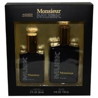 Dana Men's Monsieur Musk 2-piece Gift Set