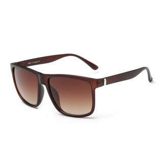 Icon Women's Square Chestunt Frame with Tawny 53-millimeter Lenses Fashion Sunglasses