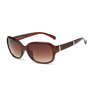 Link to Chestnut Frame Acetate Square Sunglasses with Tawny Lens Similar Items in Women's Sunglasses
