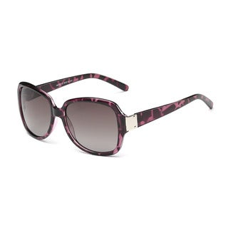 Link to Purple Turtoise Square Sunglasses with Dark Grey Lenses Similar Items in Women's Sunglasses
