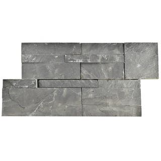 SomerTile 7x13.5-inch Piedra Black Slate Natural Stone Wall Tile (Pallet of 48)|https://ak1.ostkcdn.com/images/products/12095044/P18958655.jpg?impolicy=medium