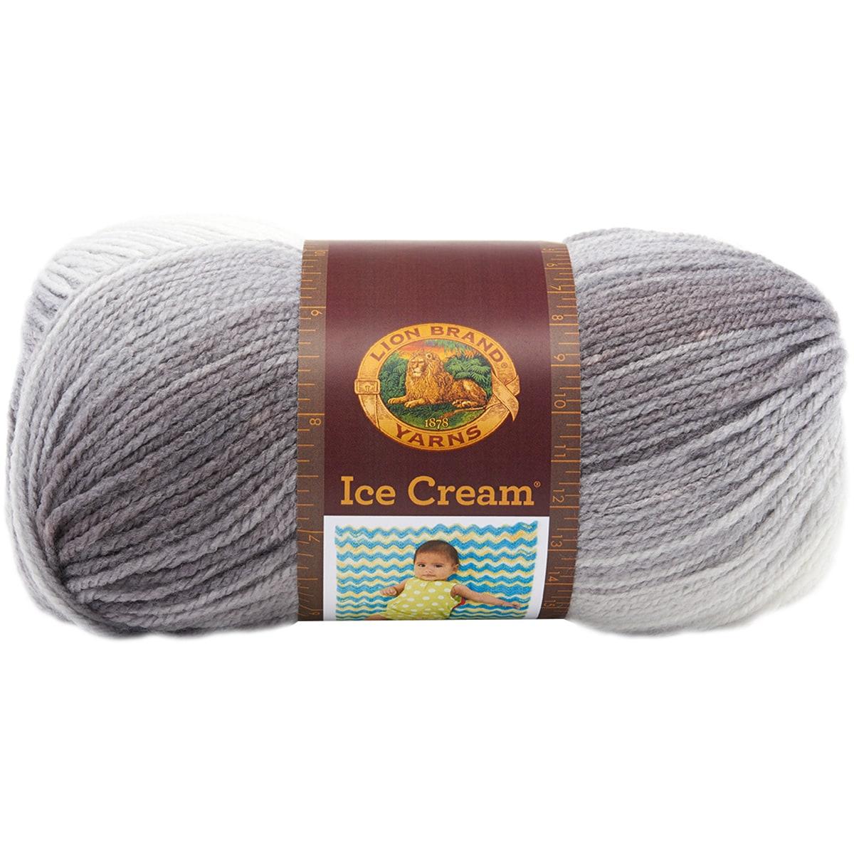 Lion Brand Ice Cream Yarn (Spumoni) (Acrylic)